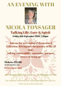 An Evening with Nicola Tonsager
